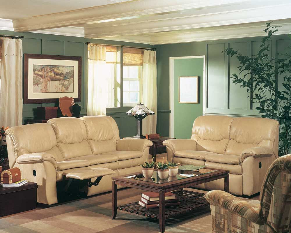 La Z Boy Furniture Trevor Collection Featuring Reclining