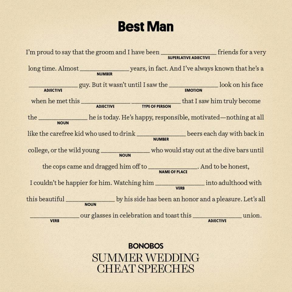 Writing A Best Man Speech For Brother Best Man Speech Wedding Speech Speech Quote