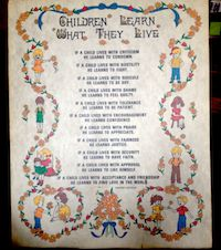 Children Learn What They Live Poem | Inspirational Poems ...