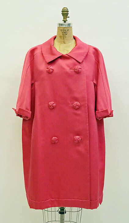 Coat Evening House Of Dior French Founded 1947 Designer Yves