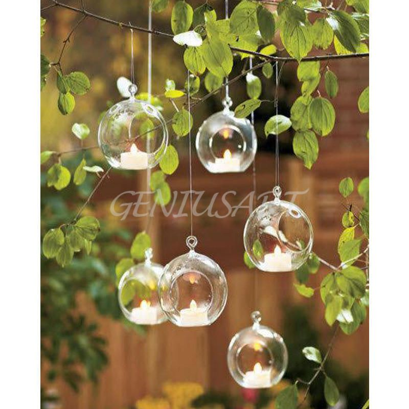 1 89aud Hanging Glass Ball Vase Flower Plant Pot Stand Terrarium Container Home Decor Ebay Home G Candle Holders Wedding Hanging Vases Hanging Glass Vase