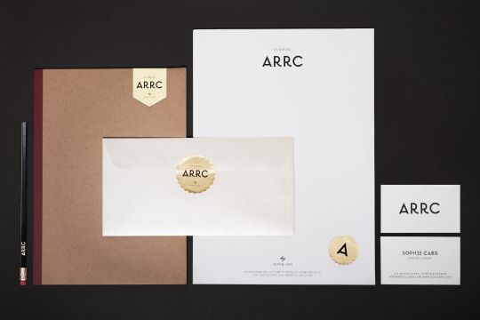 Beautiful Studio Arrc - Branding Design by Moodley Brand Identity