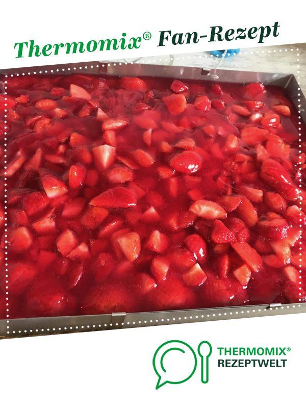 Photo of Strawberry cake with paradise cream