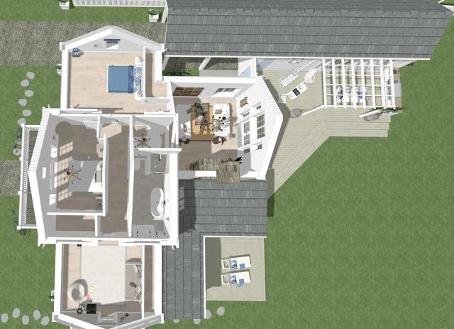 Dreams & Coffees arkitekt och projektblogg Strandhus i