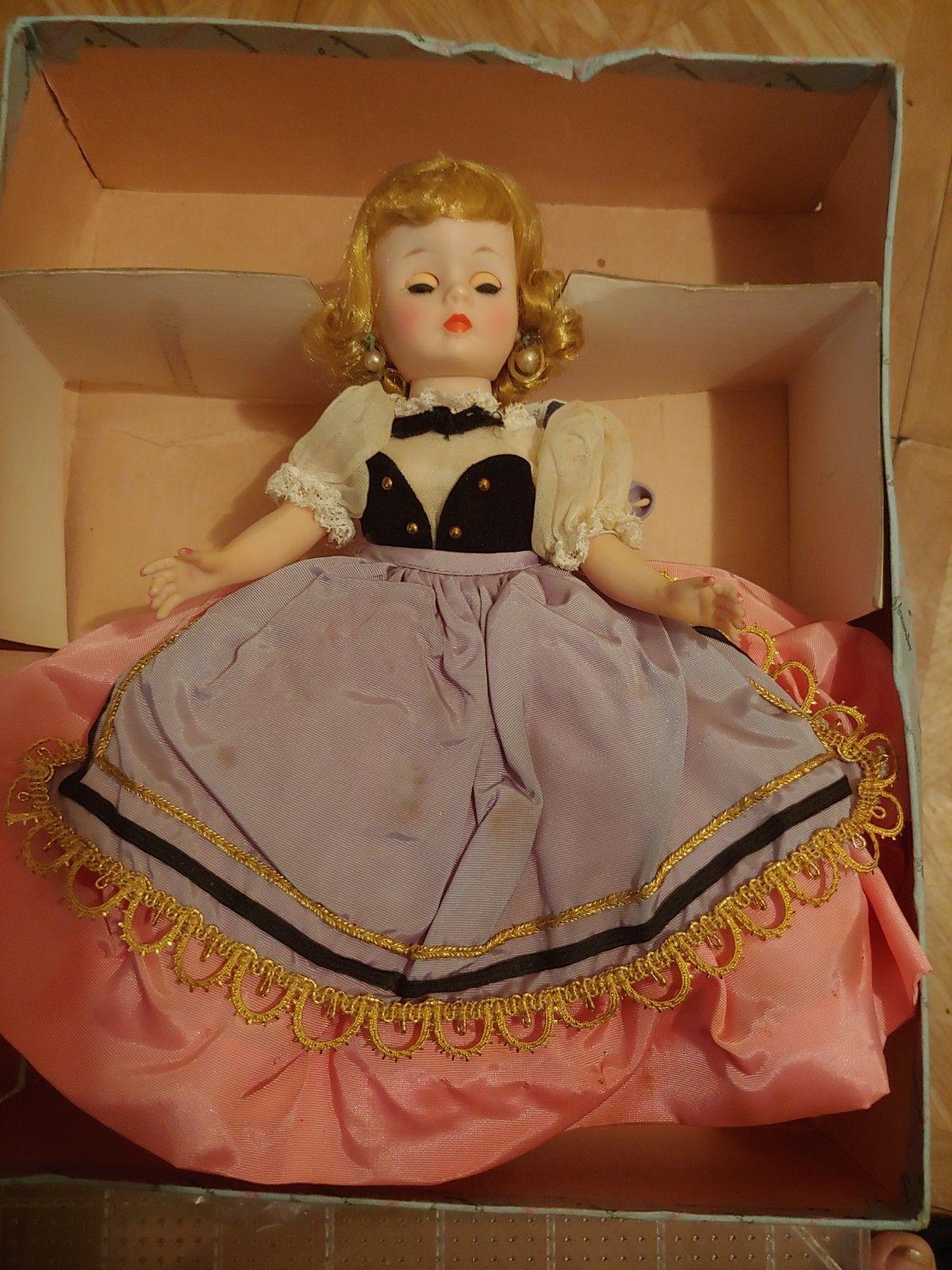 Vintage Doll Jewelry Earrings Madame Alexander Cissy Elise Cissette Miss Revlon
