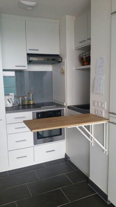 Studio Petit Logement Optimisation De L Espace Table Pliable