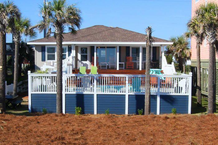 Cherry Grove Beach House Rental Beautiful 4 Bedroom Oceanfront