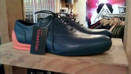 contrast heel color pop
