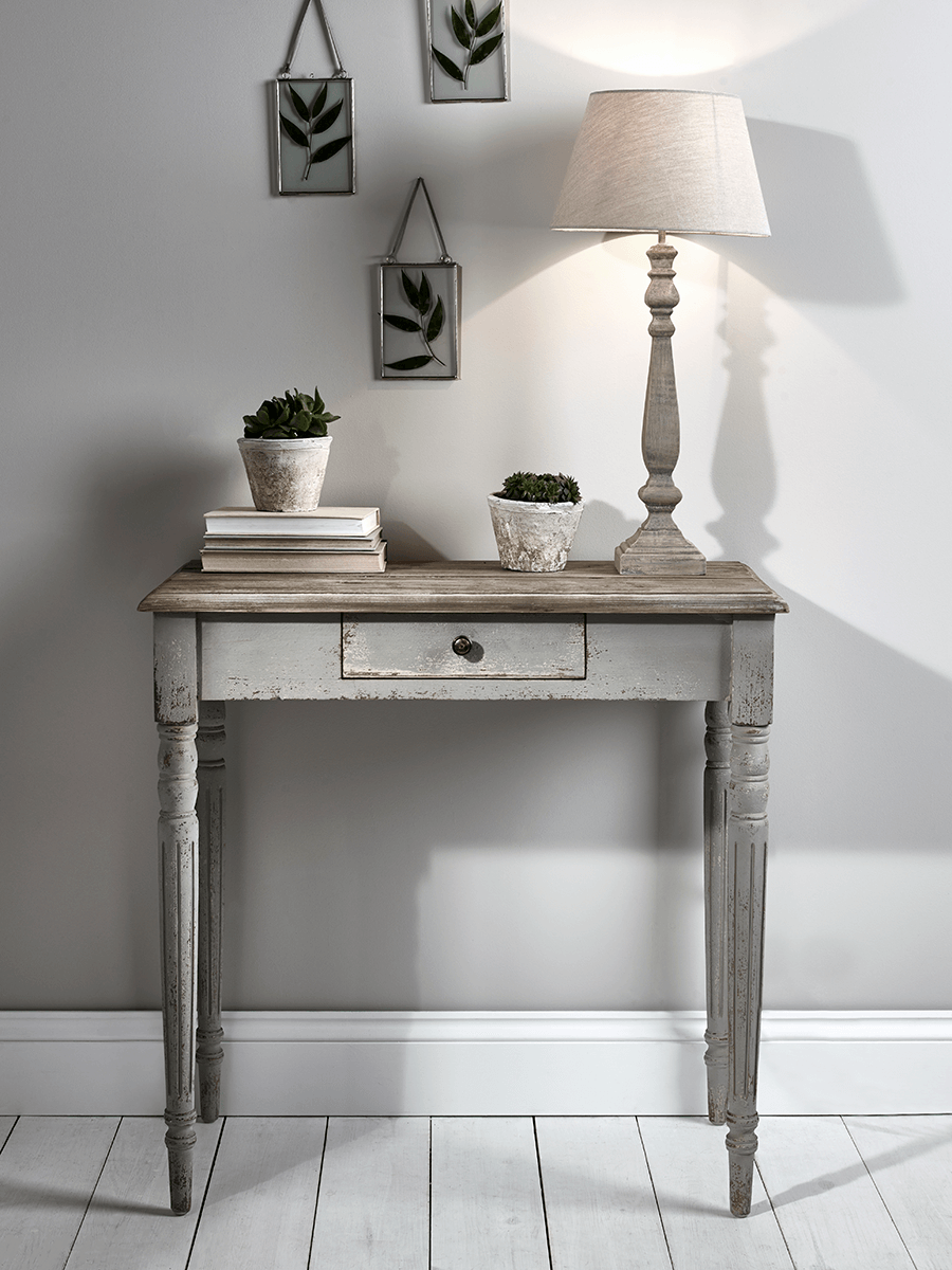 End of hallway ideas  Grey Console Table  Console Tables  Dining Coffee u Side Tables