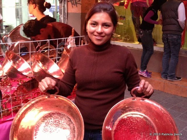Mexican cooks swear by hand-hammered copper pots to make special things, such as carnitas for savory food, but mostly for all sorts of sweets.