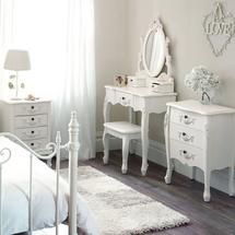 Toulouse White Bedroom Furniture Collection Bedroom Decor - Toulouse bedroom furniture white