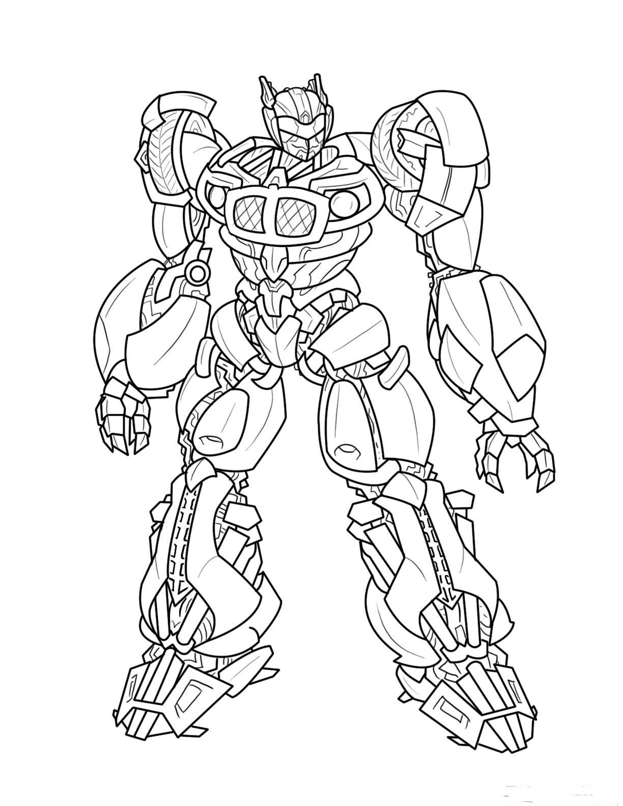 Coloring pages printable transformers coloring pages to print