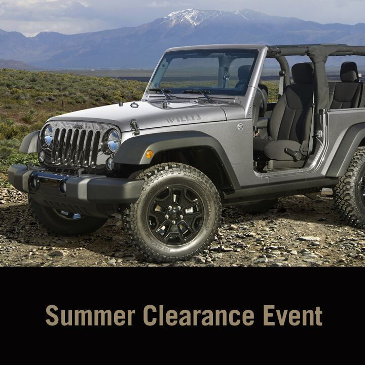 Hottest Saving Of The Summer Clearance Event At Lee Chrysler. Us1 Chrysler  Dodge Jeep ...