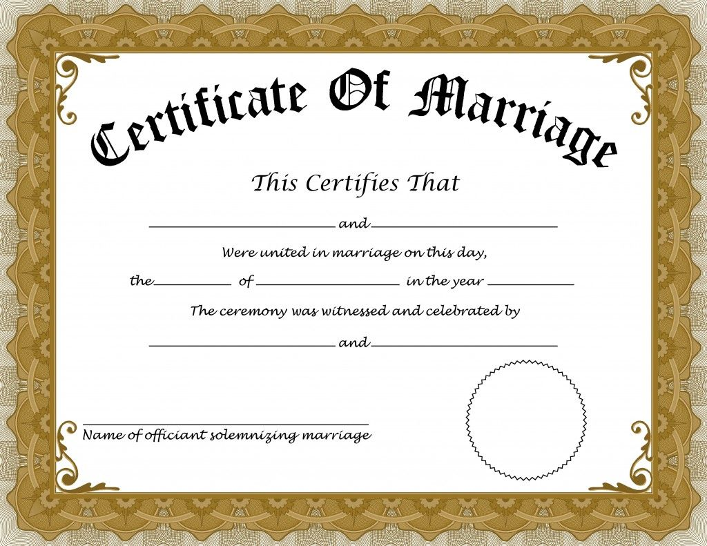We Provide You Genuine And Original Looking Marriage Certificate