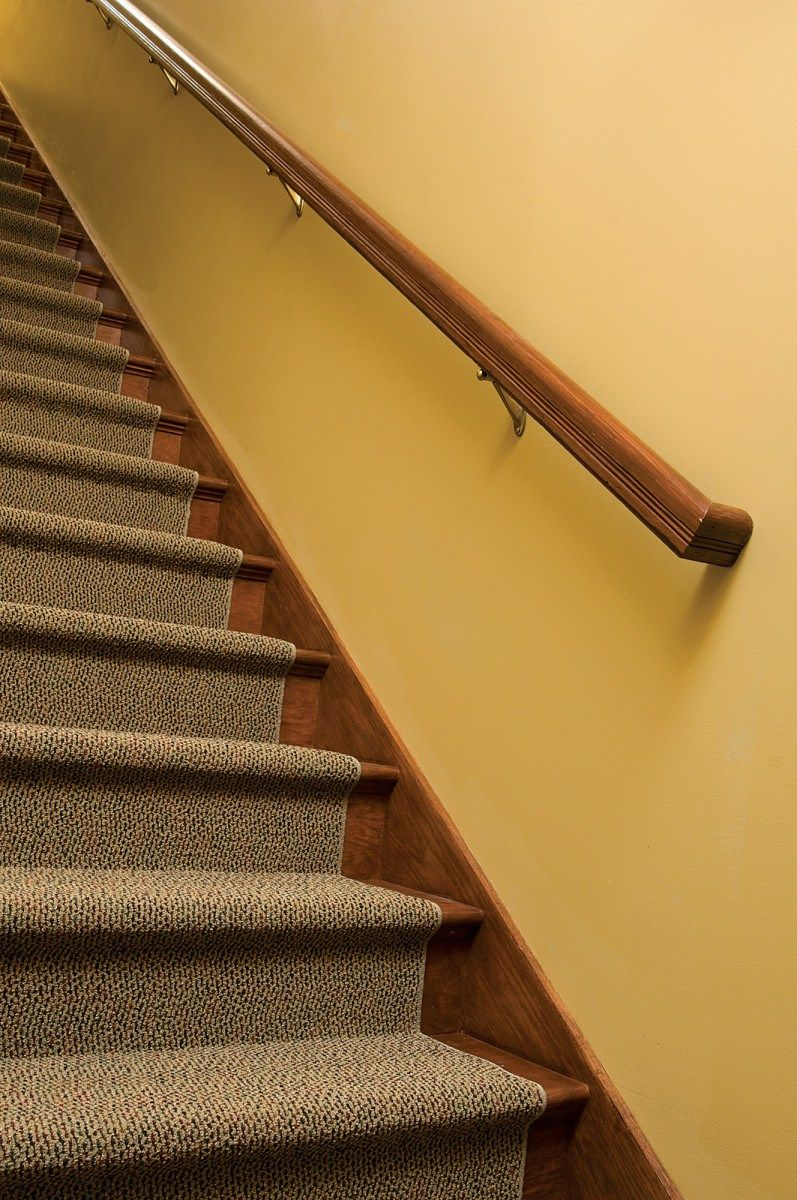 Splendent Restore Stair Rail How To Hang A Stair Rail Restoration | Wood Stair Treads Menards | Vinyl Stair | Prefinished Stair | Pressure Treated | Stringer | Unfinished Pine