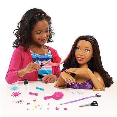 African American Black Hair Styling Head Nail Doll Black American Hair African American Hair Styles
