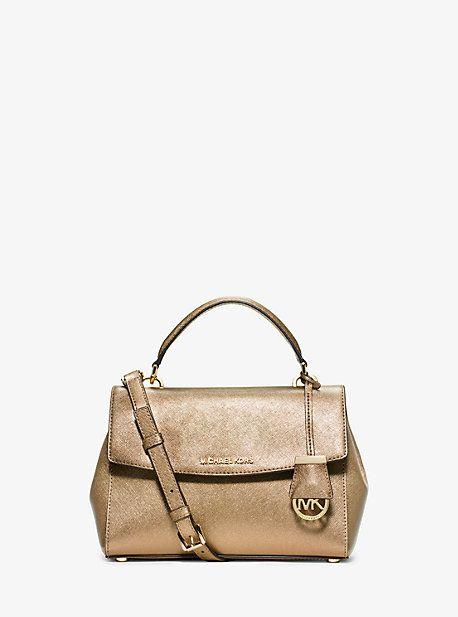 c396e2830a5e0 Ava Small Saffiano Leather Satchel