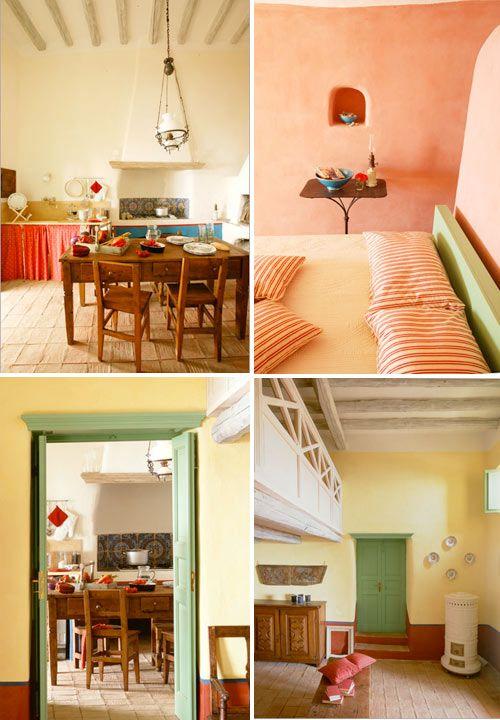 Colores rusticos para interiores simple cermica para for Colores rusticos para interiores