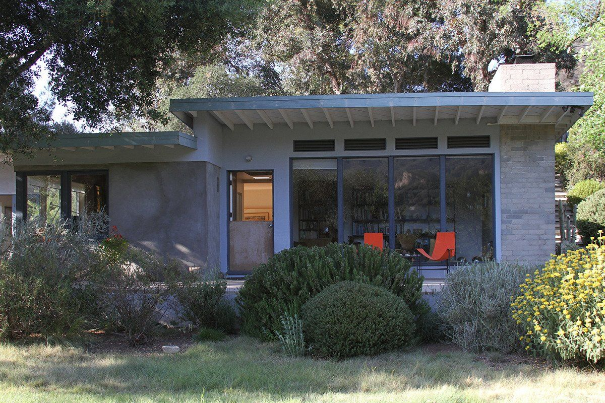 Heinz & Veronique s Mid Century Home Prefab Cabin Studio