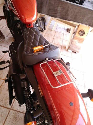 Luggage rack made of stainless stell