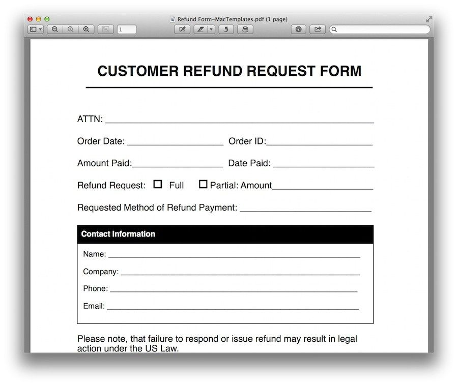 Ppi Claim Letter Template For Business Mbna Example Refund  Home