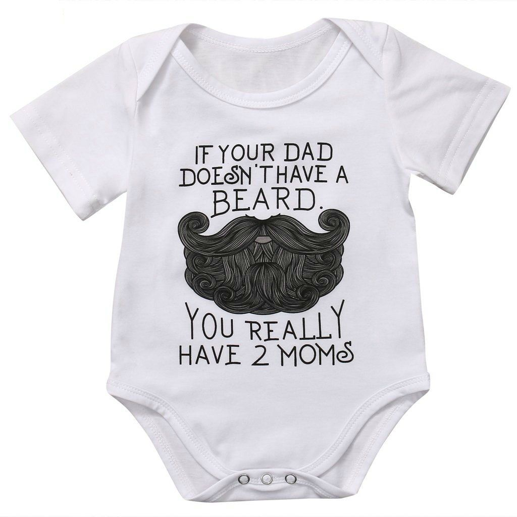 Unisex Cotton Romper Baby Bodysuit He Who Has JUST BEEN NAMED