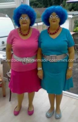 Halloween Ideas · Costumes · @Katrisa Bischoff - If we ever live close enough together can we go as Patti  sc 1 st  Pinterest & Coolest Homemade Patty and Selma Twins Costumes | Costumes u0026 Playing ...