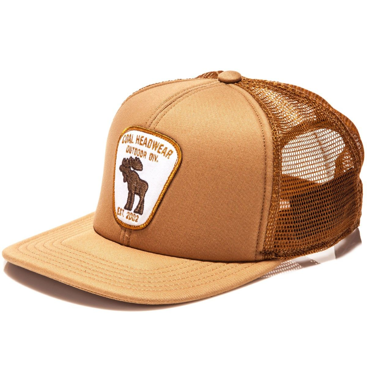 c24ddeb8ac4 Coal The Bureau Hat - Light Brown