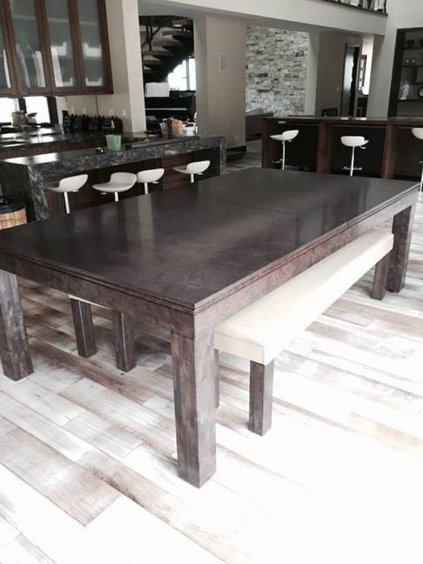 Dining Pool Tables 2 In 1 Conversion Room Table Small