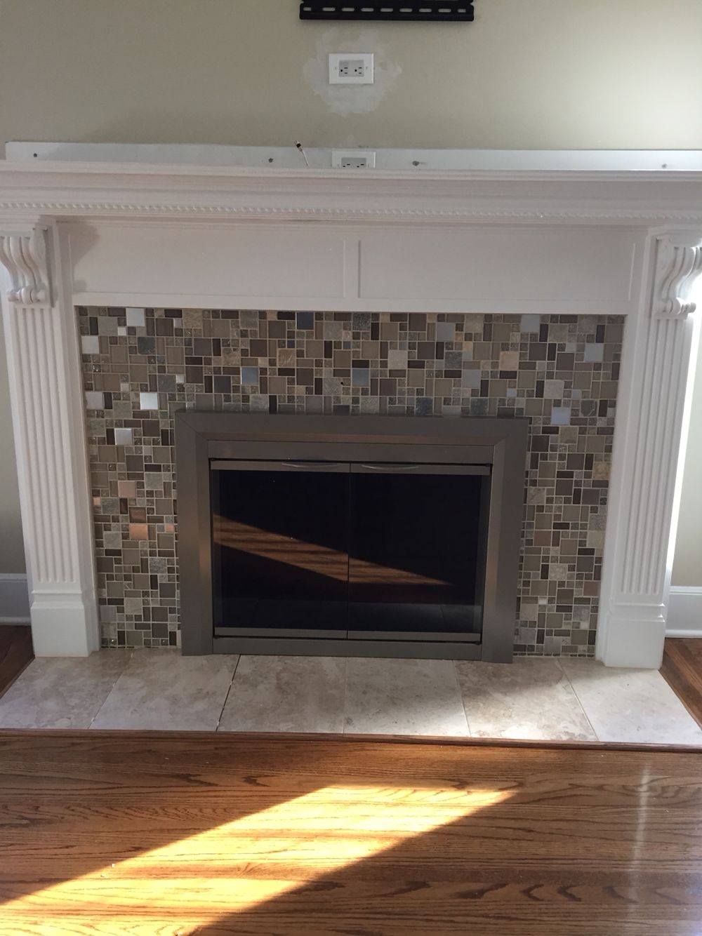 Outstanding Diy Cover Old Fireplace Using Mdf And Foam Moldings Trims Download Free Architecture Designs Embacsunscenecom
