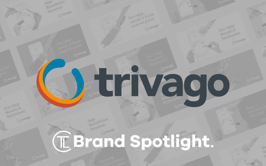 Trivago Brand Spotlight Logos design, Branding, Logos
