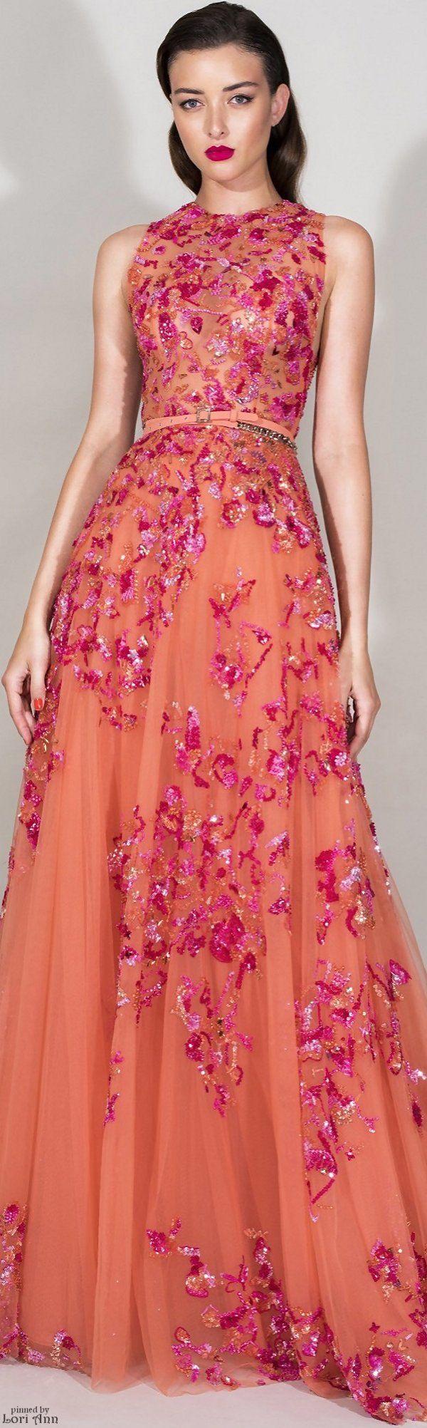 Zuhair Murad Resort 2016 | Gowns/Dresses | Pinterest | Rosas ...