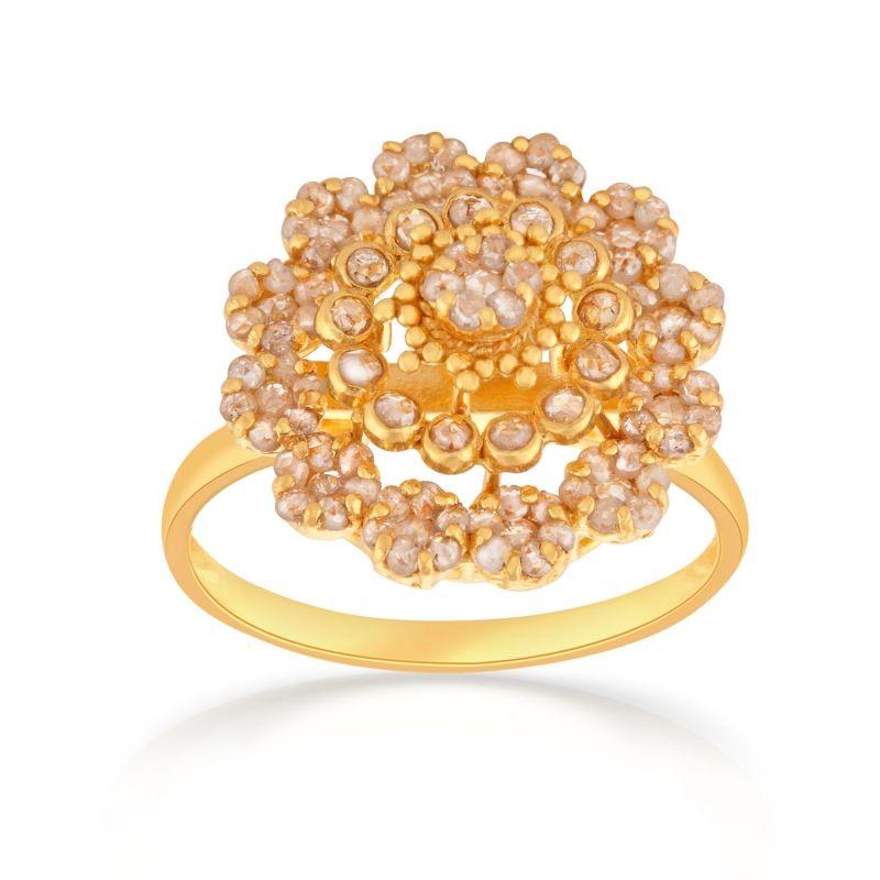 ERA Uncut Diamond Gold Ring UCRG7697