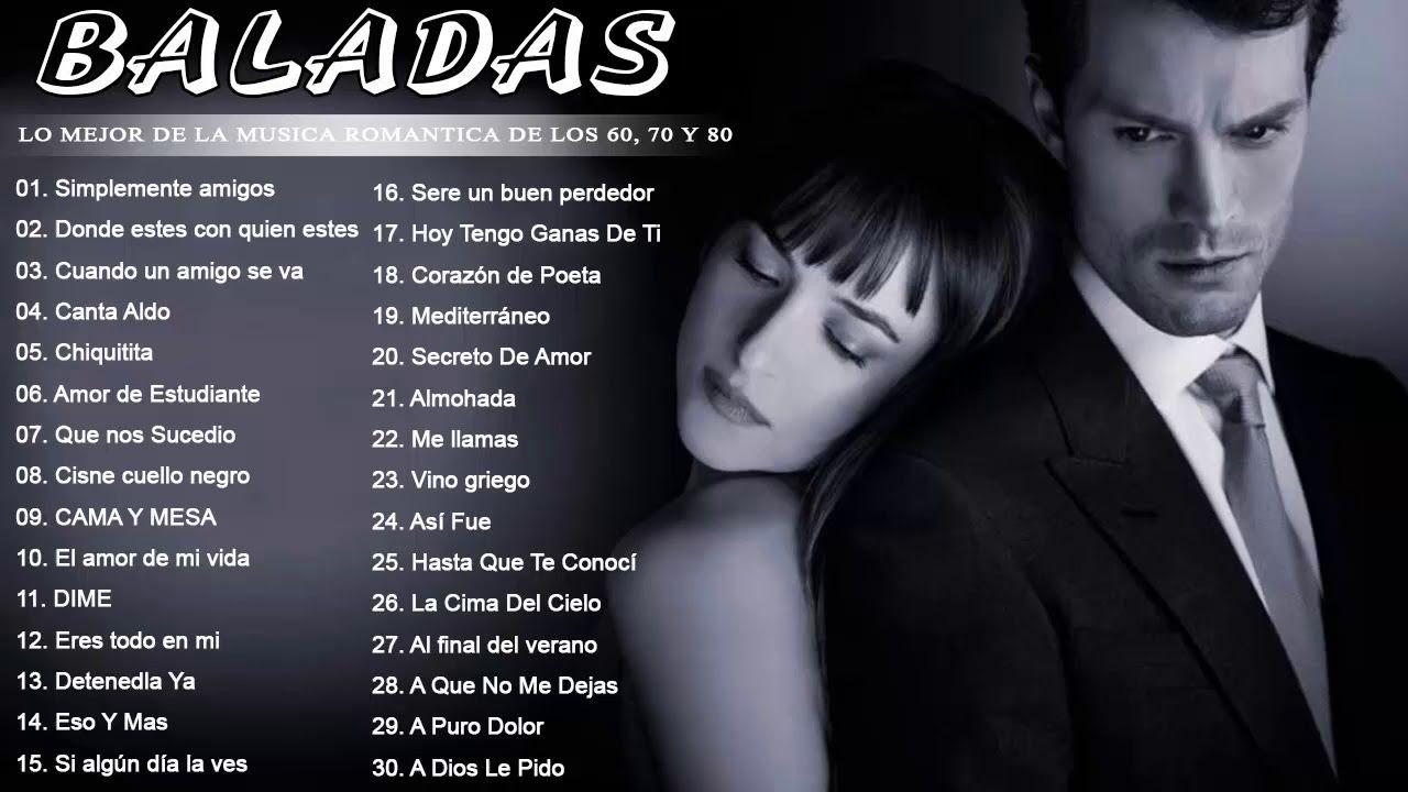 Baladas Romanticas Delos 60 70 80 En Español Lo Mejor De La Musica Rom Music Playlist Youtube Music
