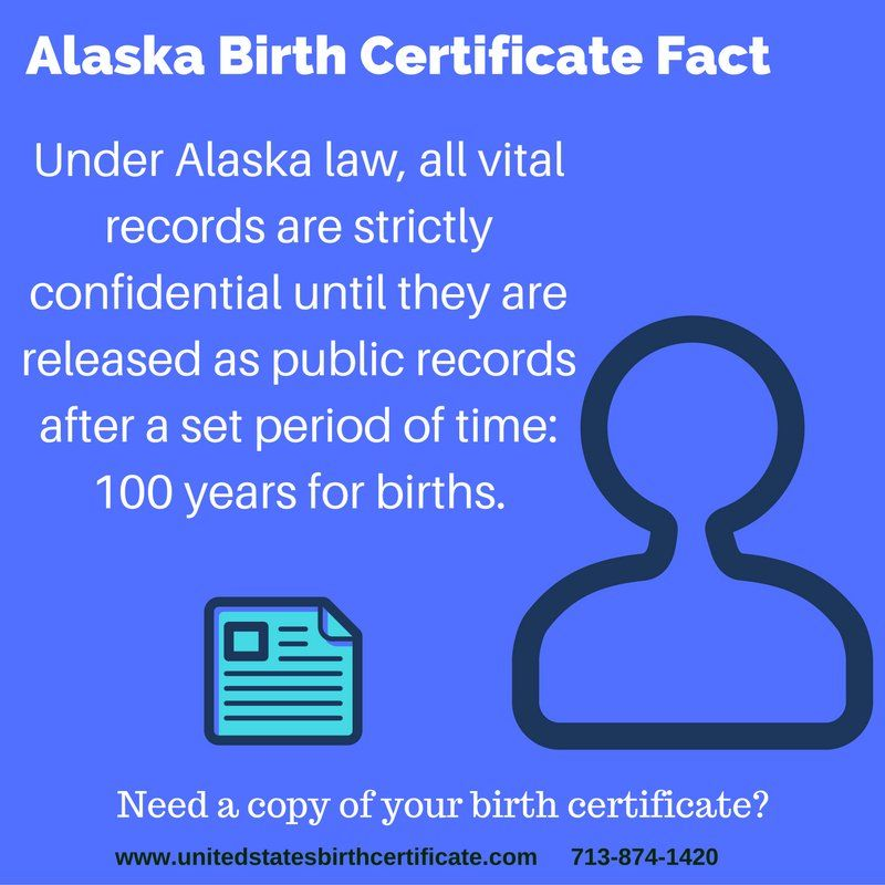 Born In Alaska And Need A Copy Of Your Birth Certificate Fast We
