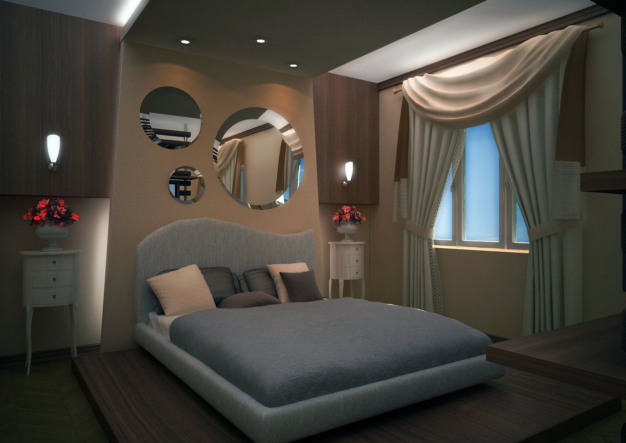 3D Bedroom Design 3D Model Interior Design Photo  3D Interior  Pinterest  D