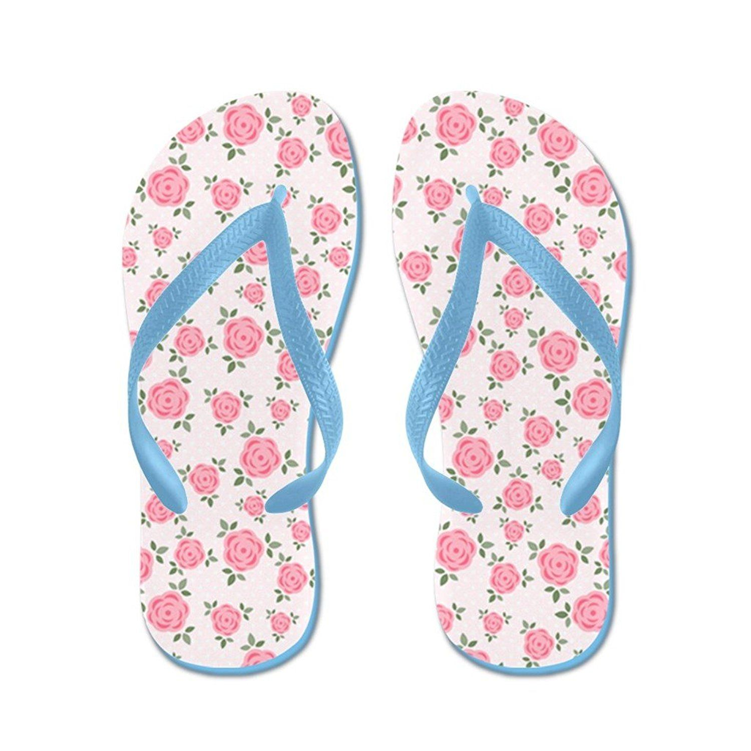 062cf7c16824 Lplpol Pretty Pink Flowers Pattern Flip Flops for Kids and Adult Unisex  Beach Sandals Pool Shoes Party Slippers     Be sure to check out this  awesome ...