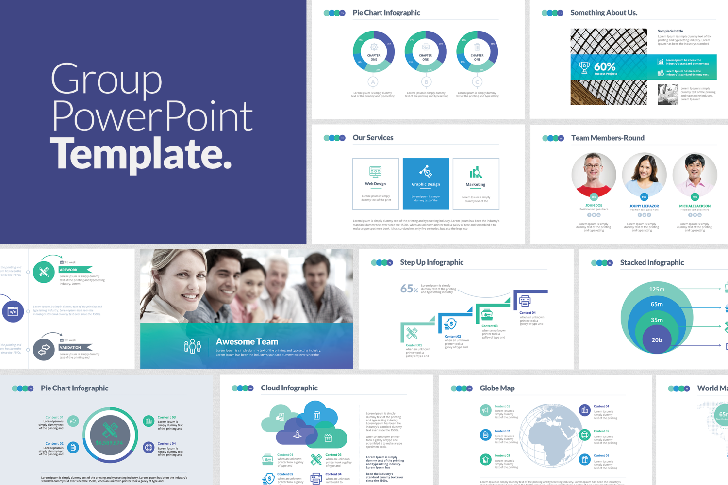 Group powerpoint template by designdistrict on envato elements group powerpoint template by designdistrict on envato elements toneelgroepblik Gallery