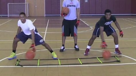 Speed Ladder Dribbling Drills | sparq training | Basketball