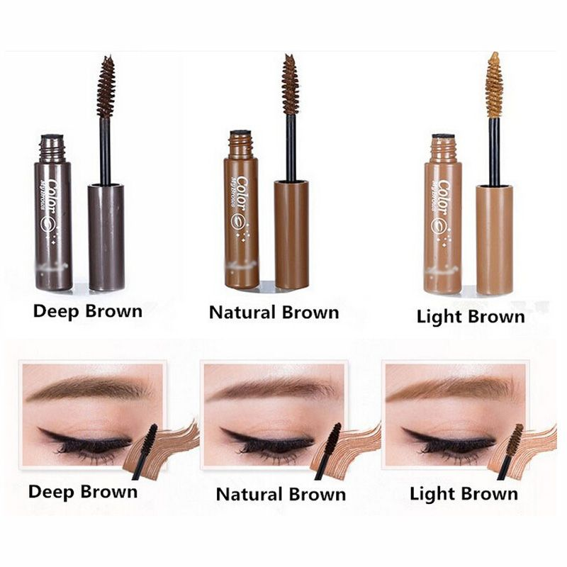 Only 187 Addfavor 3d Fiber Eyebrow Gel Tint Mascara Cream Paint