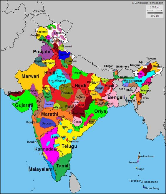 india maps and views The Languages Of India Language Map India Map Indian History Facts india maps and views