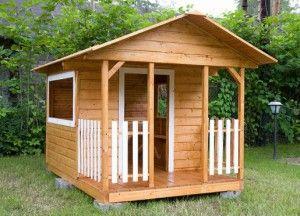 Деревянный дом своими руками на даче фото