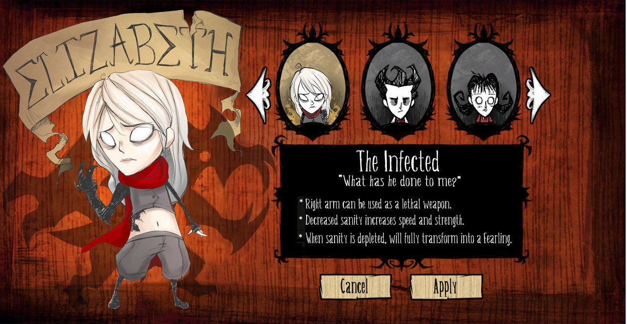 don't starve custom character template - Google Search ...