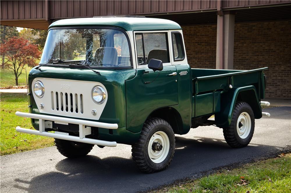 1961 Willys Fc150 Pickup Trucks Jeep Pickup Jeep