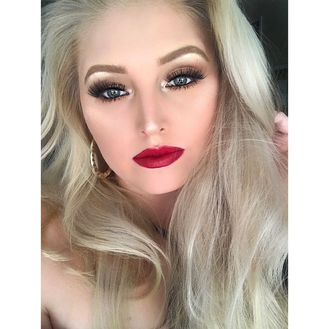 "Simple Bold Red Lip Makeup Look, ""Havana Nights"" Bold"