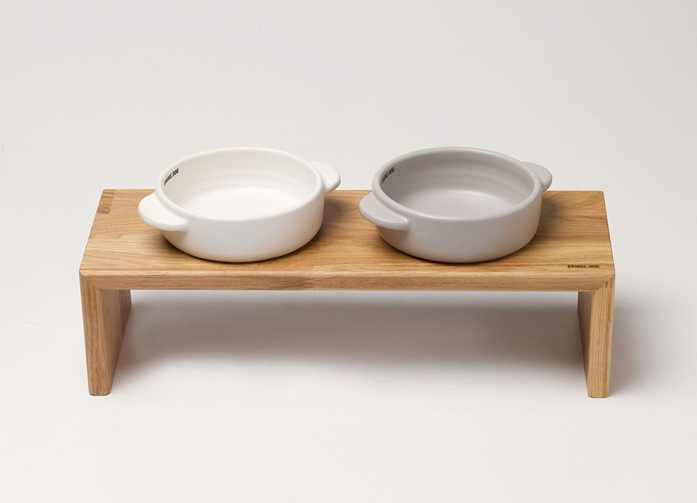 Feeders And Bowls From Bridge Dog