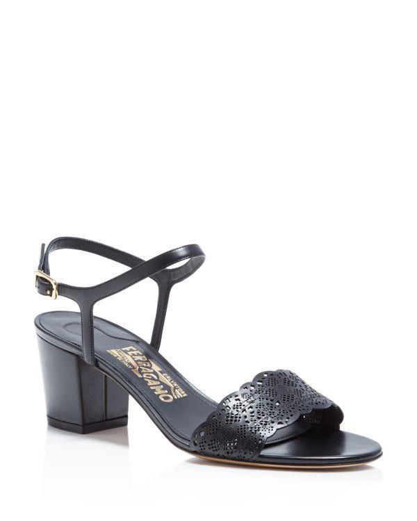 63b1ecff11fc2 Salvatore Ferragamo Galles Block Heel Sandals