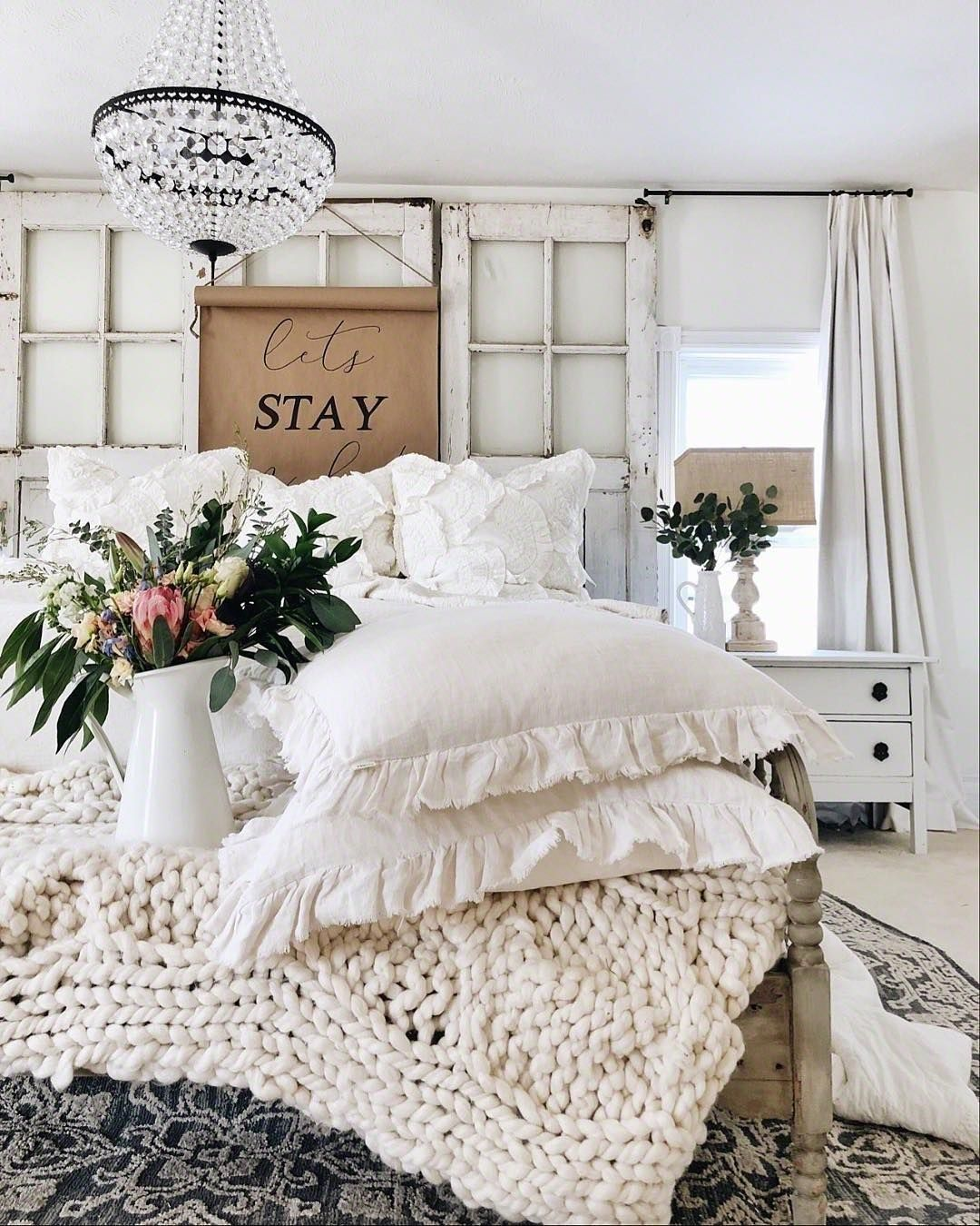 35 Awesome Farmhouse Bedroom Design And Decor Ideas Country Bedroom Decor French Country Decorating Bedroom Home Decor Bedroom