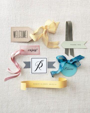 Favor Tags Six Ways - Favor Tag Clip Art and Templates. | Weddings ...