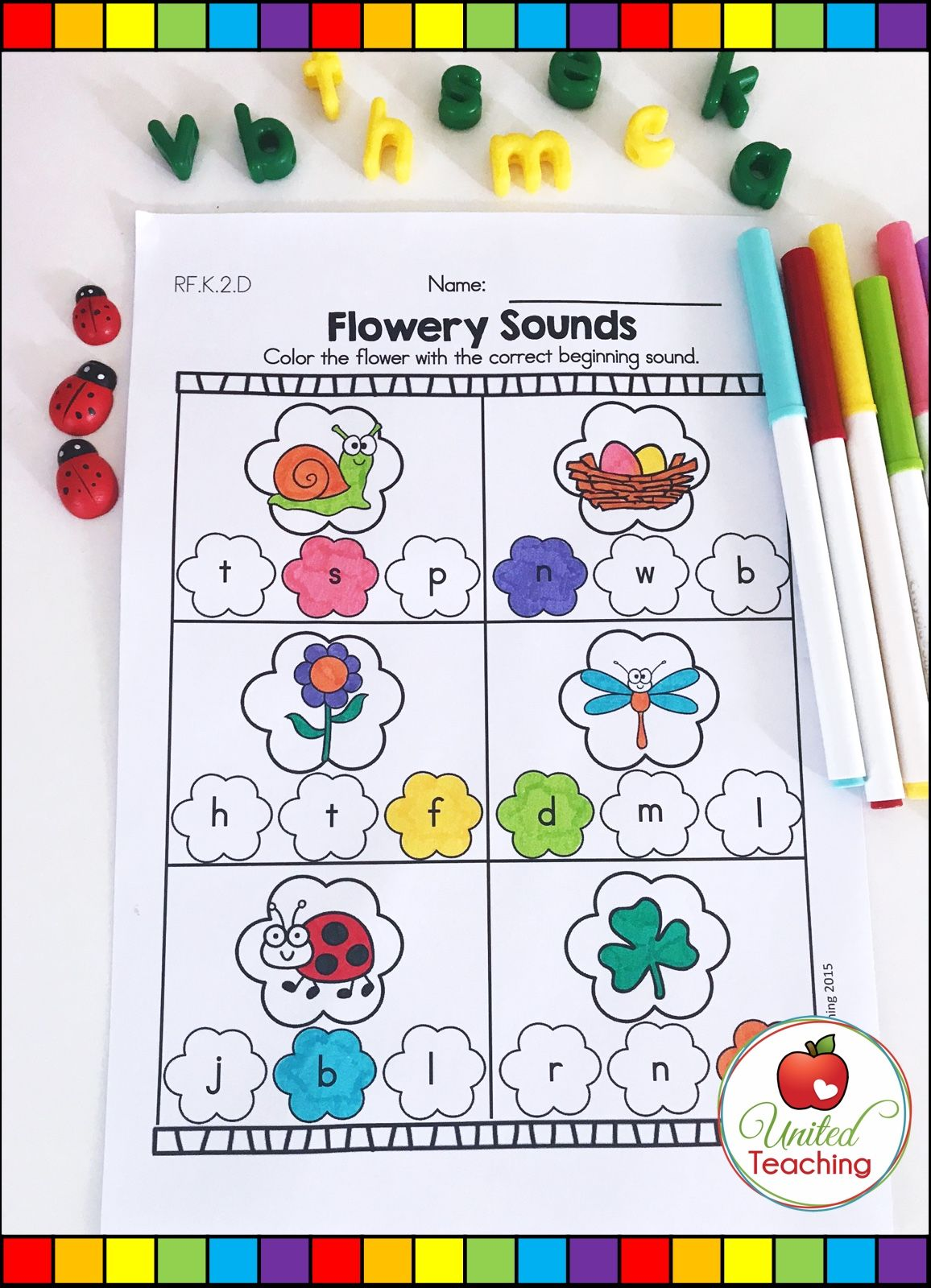 Cover Essential Kindergarten Literacy And Phonic Skills